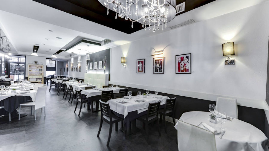 Restaurant with private rooms in Madrid Center
