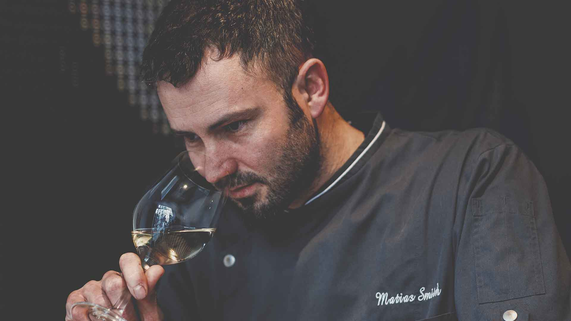 Matías Smith. Chef of Metro Bistró.